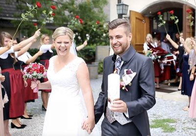 Hochzeitsvideo Holzham Clarissa Philipp Rosenheim Bad Aibling